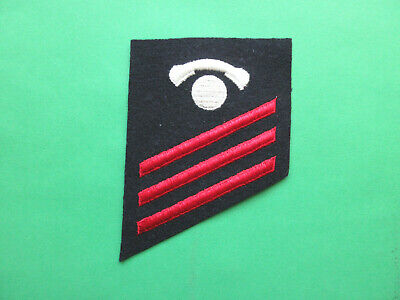 Usn Striker Rate Insignia Other Militaria Interior Communications Electrician White On Blue Collectibles