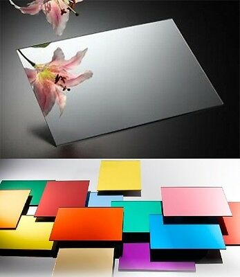 Acrylic Mirror 3mm Sheet Large Perspex Plastic Safety Mirror Safety Cut to Size