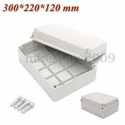 Junction Electronic Project Box Waterproof Enclosure Cover Case 300*220*120mm