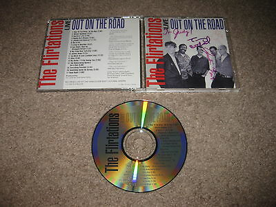 Hand Signed THE FLIRTATIONS Live Out On The Road CD FL1002 AUTOGRAPHED