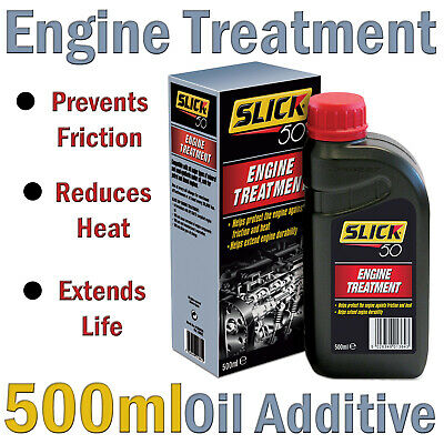 Slick 50 Engine Treatment - Petrol & Diesel Oil Additive 500ml