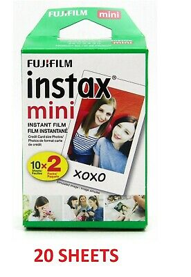 Fujifilm - instax mini Instant Color Film Twin Pack (20 Sheets) - NEW™