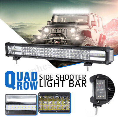 23inch 600W Shooter LED Work Light Combo Bar Lumière Lampe Conduite Offroad ATV