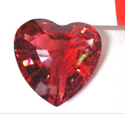 "1998 Limited Edition SWAROVSKI RED CRYSTAL HEART 3-D Love 1.5"" Paperweight NWOB"