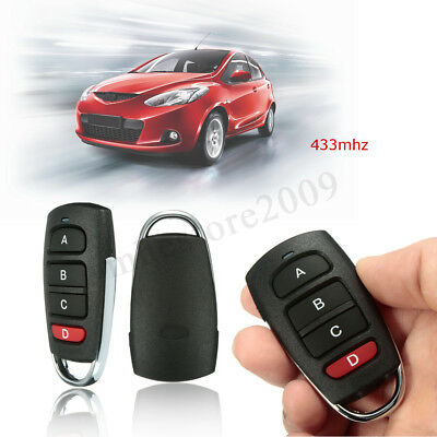 Universal Electric 4Button Gate Garage Door Opener Remote Control 433mhz