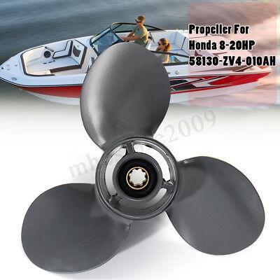 9 1/4 x 10 1/2 Boat Outboard Propeller For Honda Engine 8-20HP 58130-ZV4-010AH