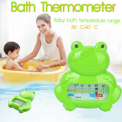 Baby Infant Bath Tub Water Temperature Tester Toy Frog Cute Thermometer