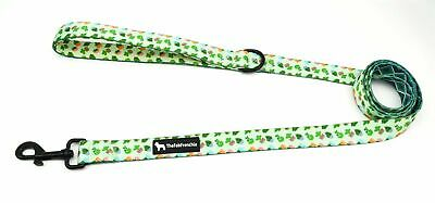 The Fab Frenchie® French Bulldog Cactus and Diamonds Padded Handle Leash