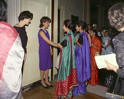 First Lady Jacqueline Kennedy at reception for editor/'s wives New 8x10 Photo