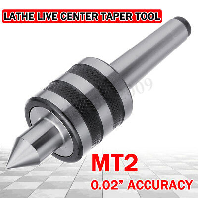 MT2 Precision Rotary Live Lathe Milling Centre Taper Bearing Turning Revolving
