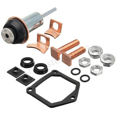 Starter Solenoid Repair Rebuild Kit Contacts Parts For Toyota Subaru Honda