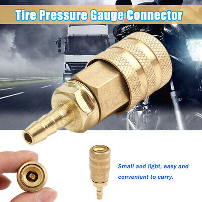 Universal Tire Pressure Gauge Connector For Car Motorcycle Mountain Bike