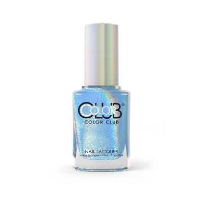 Color Club Halo Hues Holographic Nail Polish 997 Over the Moon 0.5oz