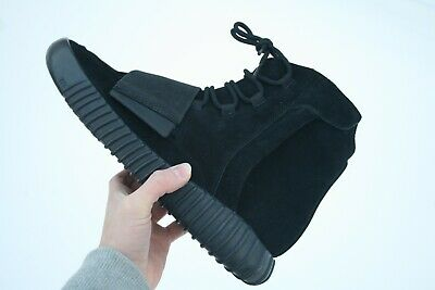 de9bc361743dd Deadstock Adidas Kanye West Yeezy Boost 750 Triple Black size 10 with box