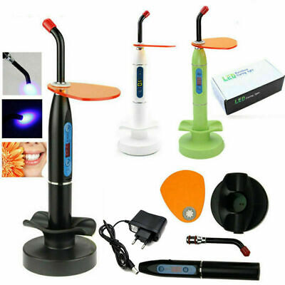 Dentista Dental Wireless LED Curing Light Lamp lampada fotopolimerizzazione EU