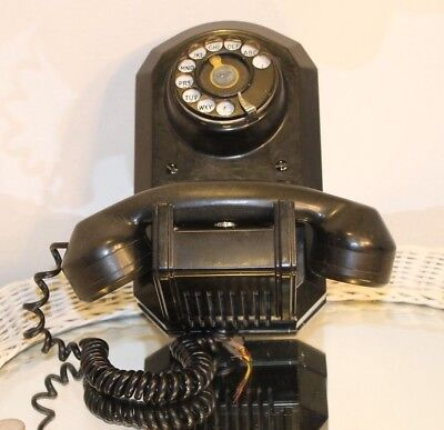 Vintage  Monophone Automatic Electric Co Chicago Made In Usa Model 50 Bakelite