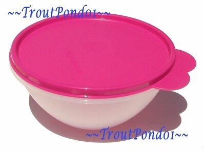 New TUPPERWARE Classic Wonderlier Nesting Mixing Bowl 3 C Small Fuchsia Pink