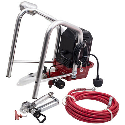 2900psi (200bar) ELECTRIC AIRLESS AIR INTERIOR WALL PAINT SPRAYER SPRAY GUN KIT