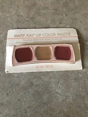 Mary Kay Vintage Lip Color Palette Glamour Adventure Warm Collection NIP! RARE!