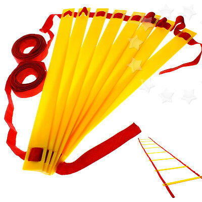 4m 8 Rung Training Agility Speed Ladder Set In/Outdoor Fitness Football Tools