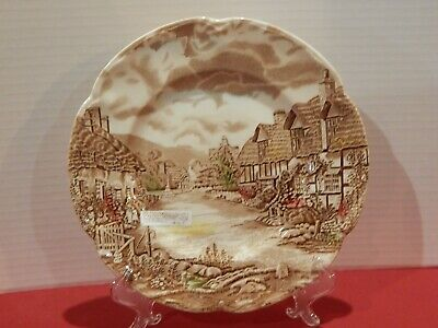 """Vintage Johnson Brothers OLDE ENGLISH COUNTRYSIDE 10"""" Dinner Plate"""
