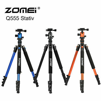 Zomei Q555 Aluminum Tripod Compact&Ball Head Travel Kit for Nikon Canon Camera