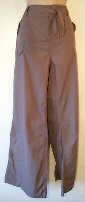 Girls Combat Cargo Trousers Age 9 Years New Brown Cotton Adjustable waist BNWT