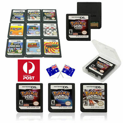 3DS NDS DSI Lite Pokemon Platinum Pearl Diamond Version Game Card For Nintendo