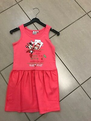 3c1650187f69dc DISNEY MINNIE MOUSE Kleid in Gr. 122 in Rosa Neu - EUR 6,50 ...