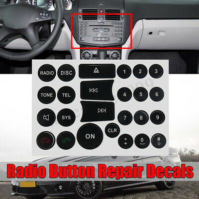 05 06 07 08 09 ALLURE LUCERNE LACROSSE RADIO STEREO BUTTON DECALS STICKERS