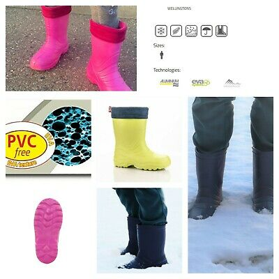CHILDREN KIDS GIRLS TEENS YOUTH HUNTER EVA LIGHT BOOTS WELLIES UK 2.5 22cm PINK