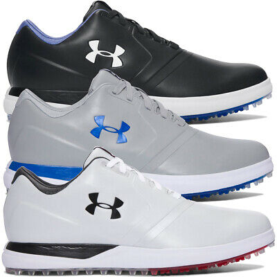735bf8104d2 Under Armour Mens Performance SL Breathable Waterproof UA Storm Golf Shoes