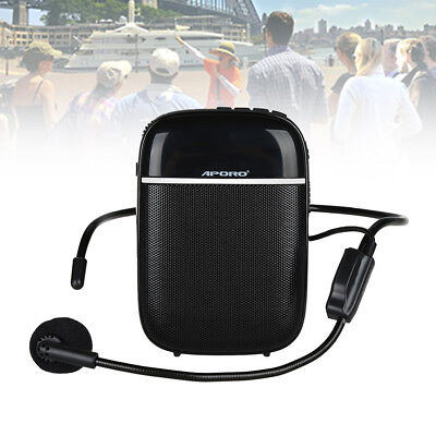 Aporo T2 Waistband Voice Booster Smart Amplifier Speaker+Microphone for Teaching