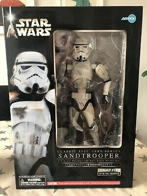 Kotobukiya Artfx 1/7 Star Wars Sandtrooper Figure Statue Collectible Rare BNIB
