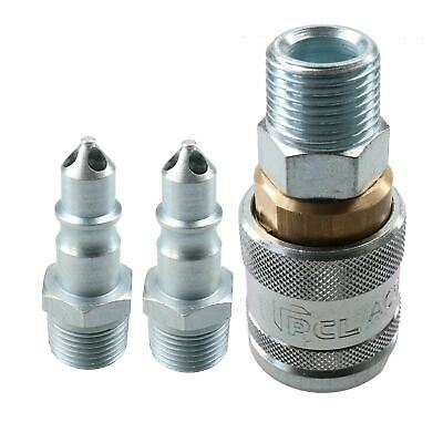 "PCL 100 Series Female Coupler 1/2"" BSP & 3/8"" BSP Male Adaptor Air Fittings"