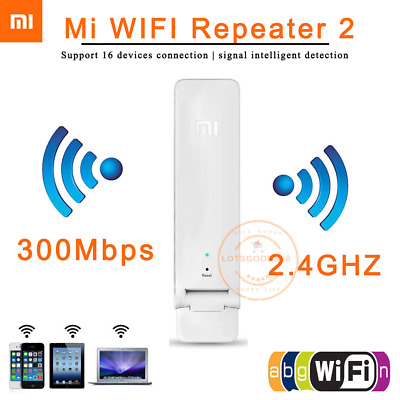 Xiaomi WiFi Repeater 300M Amplifier Extender Range Signal Range Booster Router