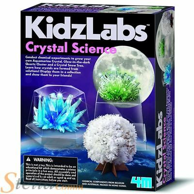 4M Kidz Labs Crystal Science Grow Your Own Crystal Educational Toy