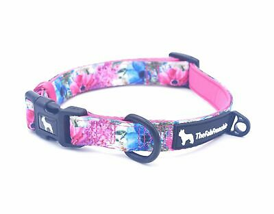 The Fab Frenchie® French Bulldog Floral Bouquet Padded Collar
