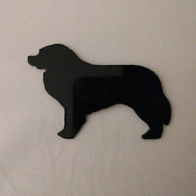 Bernese Mountain Dog  Refrigerator magnet black silhouette Made in the USA