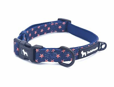 The Fab Frenchie® French Bulldog Patriotic Stars & Stripes Forever Padded Collar