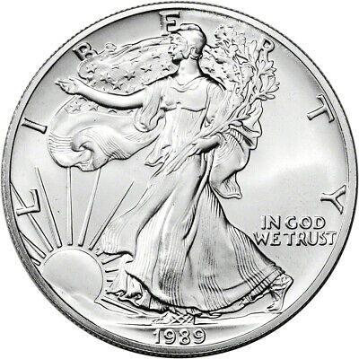 1989 American Silver Eagle - Brilliant Uncirculated