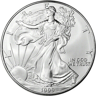 1999 American Silver Eagle - Brilliant Uncirculated