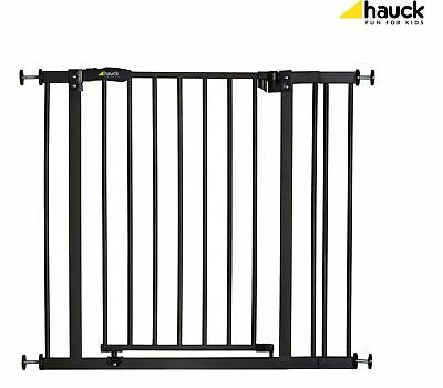 Hauck CLOSE'N STOP + 9CM EXTENSION - CHARCOAL Baby Safety Stair Gate BN