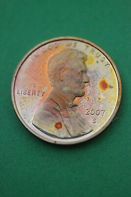 Florida Toned 2007 S Lincoln Memorial Cent Proof Flat Rate Shipping TOM53