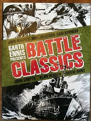 Garth Ennis Presents - Battle Classics by John Wagner (Hardback, 2014)