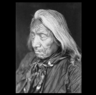 Stunning 1905 Chief Red Cloud PHOTO, Native American Indian Oglala Lakota Sioux