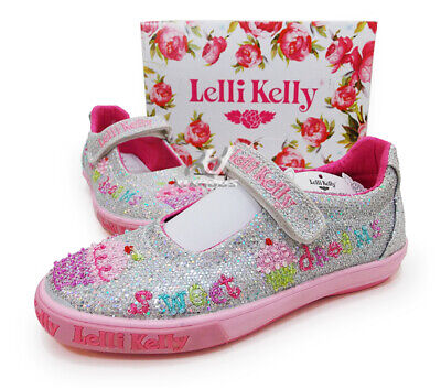 New LELLI KELLY LK9110 TALLULA Sky Blue Fantasy euro casual kids shoes Toddler
