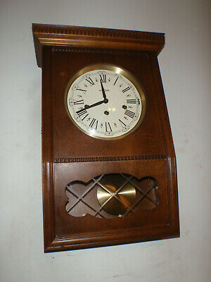 Decor Westminster Chime Wall Clock Germany Beautiful!