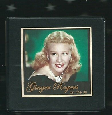 Ginger Rogers 10 Audio Cd Set Otr  Lux  Screen Guild  Plus  Other Theater Shows