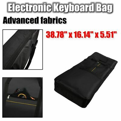 High Quality 61 Key Keyboard Electric Piano Organ Padded Case Gig Bag Black 39""